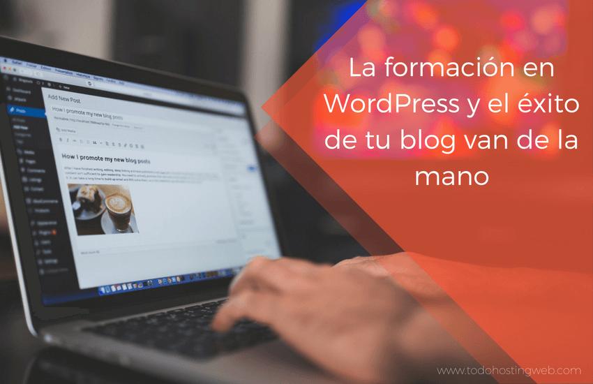 formación en WordPress