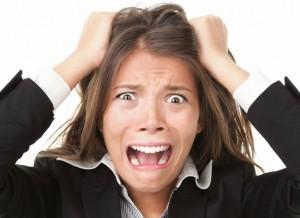 el estres y los malos hábitos